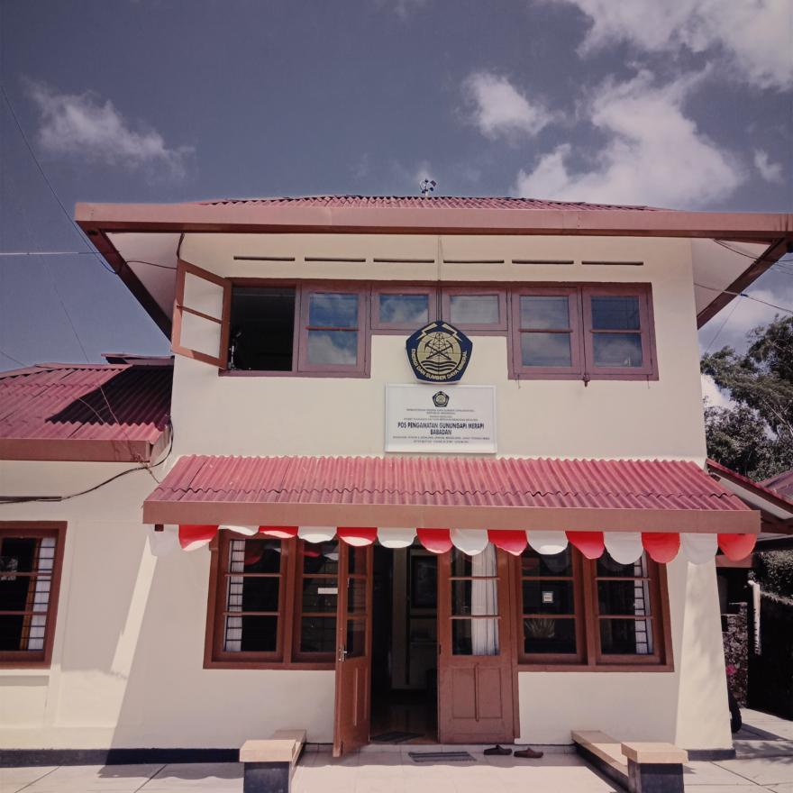 Image : Lebih Dekat dengan Merapi dari Pos Pantauan Babadan Desa Krinjing